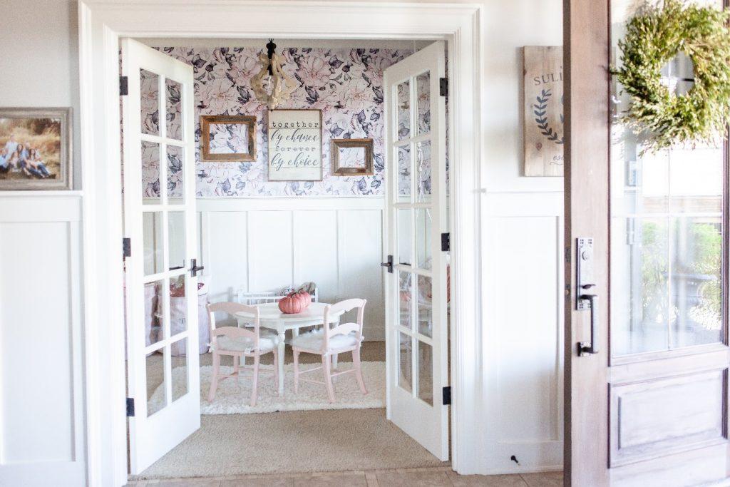 Farmhouse Remodel wallpaper decals